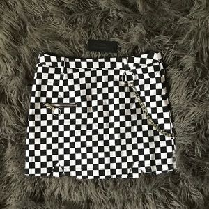 LF Stores Carmar checkered skirt